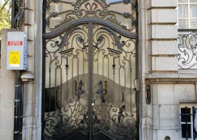 Smeedijzeren voordeur